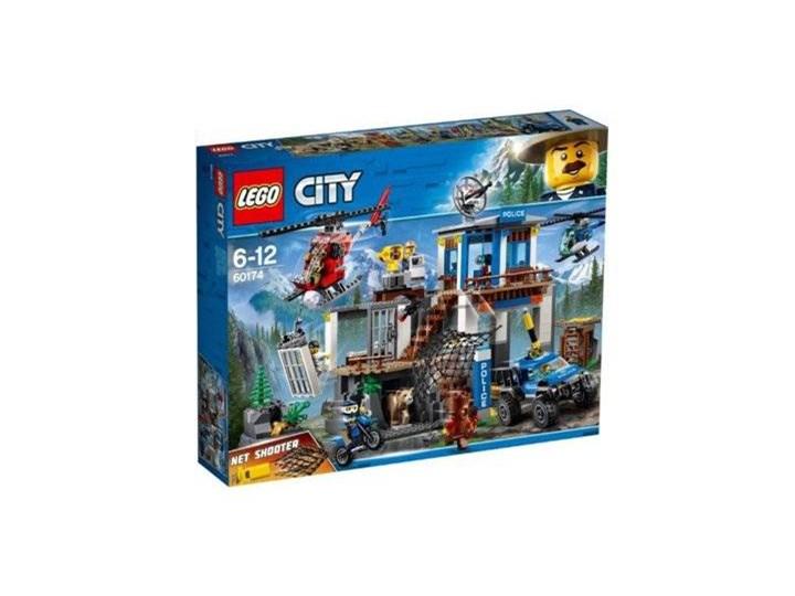Lego City 60174 Górski Posterunek Policji Zabawki Zdjęcia