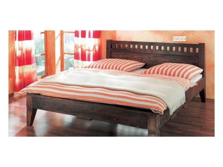 łóżko Drewniane 160 X 200 Walnut łóżka Do Sypialni Zdjęcia