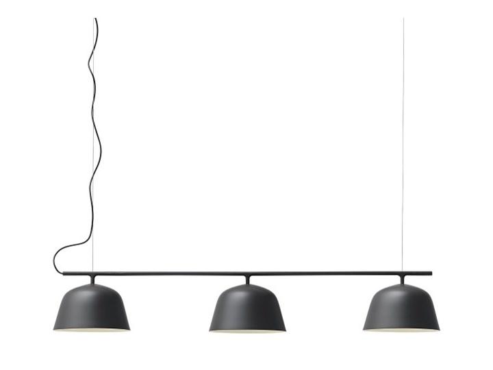 Muuto Ambit Rail Lampa Nad Stół Jadalniany Lub Bar Czarna Lampy