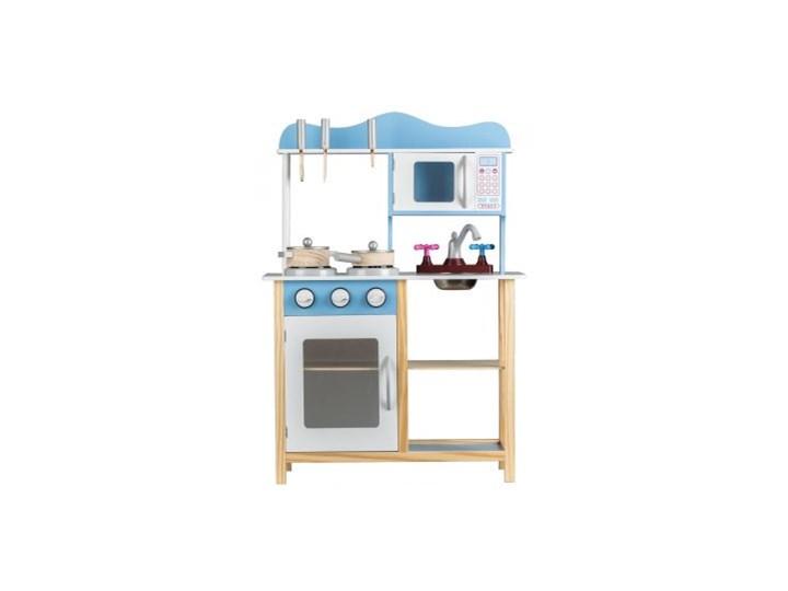 Drewniana Kuchnia Kuchenka Z Wyposażeniem Tk040 Ecotoys