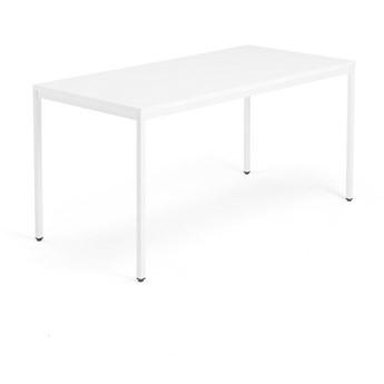 Stół MODULUS, 1600x800 mm, biały, biały