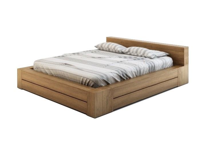Kama łóżko Drewniane Z Buka 140x200