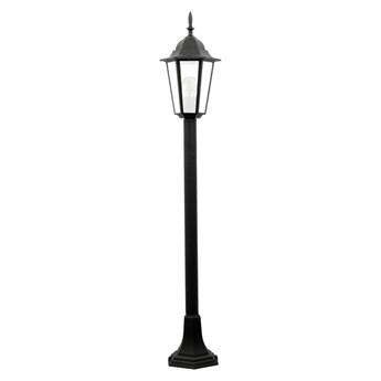 Lampa ogrodowa stojąca LIGURIA IP44 czarna E27 POLUX