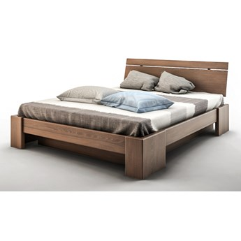 Bandal łóżko z pojemnikiem Mbox mini, z drewna bukowego, rozmiar 140x200