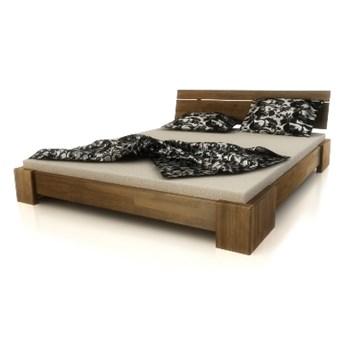 Bandal niskie łóżko z drewna bukowego, rozmiar 140x200