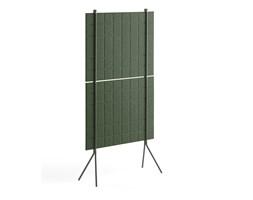 Ścianka podłogowa SPLIT, 800x1500 mm, zielony