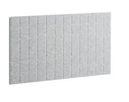 Panel dźwiękochłonny SPLIT, 1200x600 mm, jasnoszary