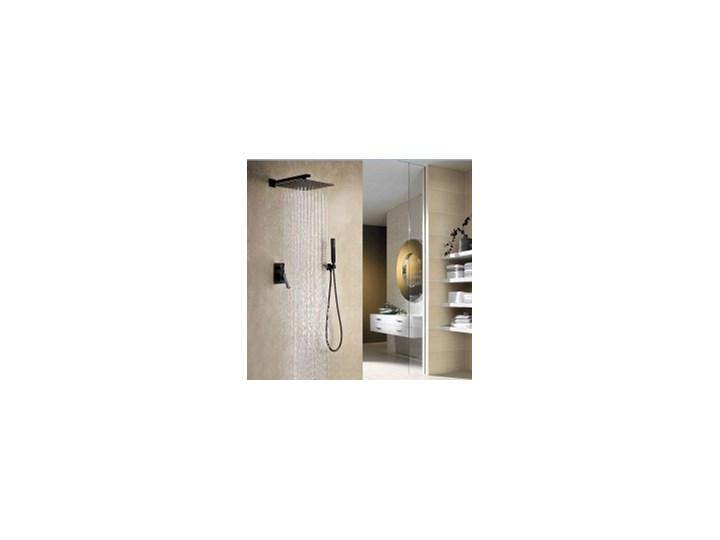 Negro Podtynkowy Zestaw Prysznicowy Czarny Zestawy Prysznicowe