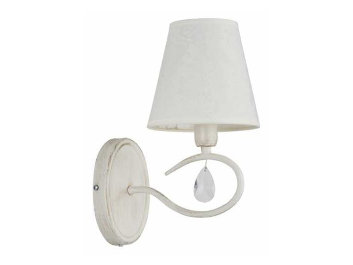 Kinkiet Alfa Bali 185201013 White Lampa ścienna 1x40w E14 Shabby Chic Rabatujemy Do 20 Każde Zamówienie Wysyłka W 24h