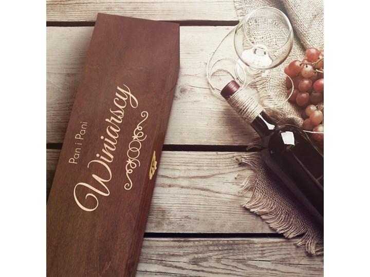 Ekskluzywna Skrzynka Na Wino Z Grawerem Dr102 Pudełka Kuchenne