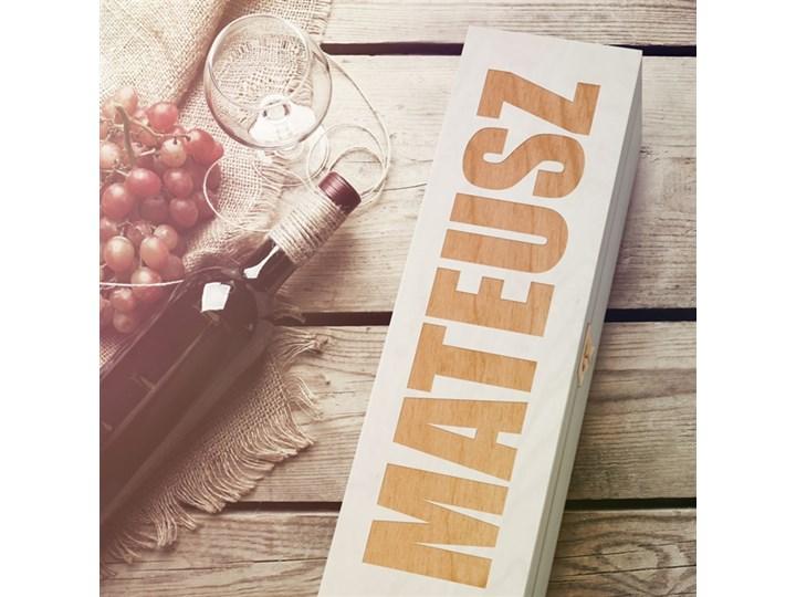 Ekskluzywna Skrzynka Na Wino Z Grawerem Dr186 Pudełka Kuchenne