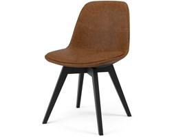 Krzesło Grace Bess brązowe nogi czarne