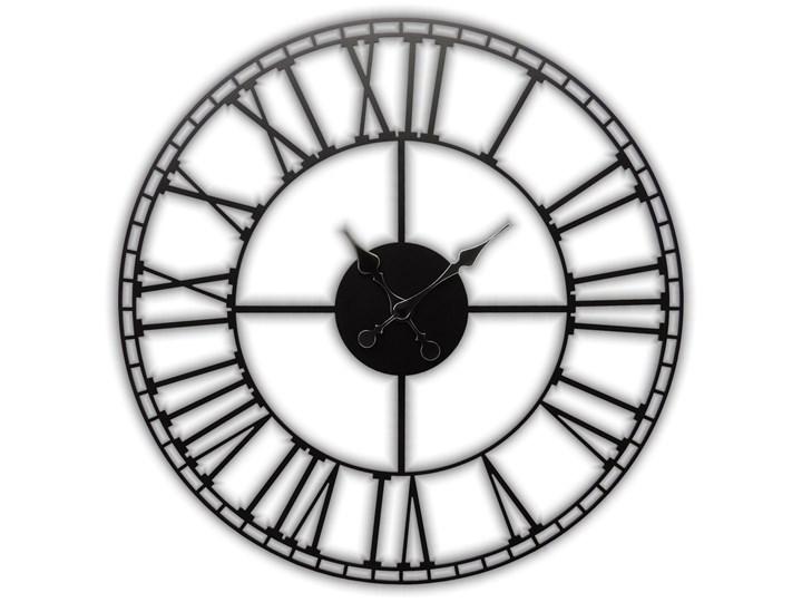 ebefceabbc22 CICHY Metalowy zegar ścienny LOFT RETRO 60 CM -607 - Zegary ...
