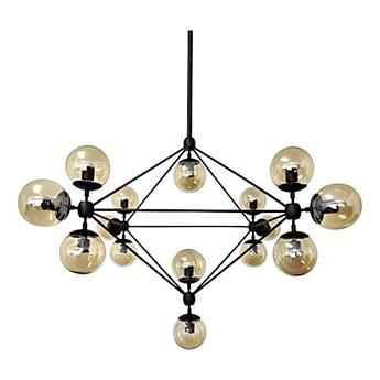 Lampa wisząca King Home Planetario czarna kod: MD10230-15