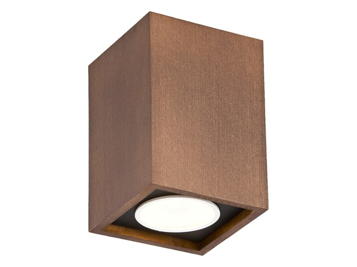 MONTREAL oprawa natynkowa 1 x 5W stropowa drewniana nowoczesna kwadratowa sufitowa ARGON 3706 Oprawa stropowa Kwadratowe Kategoria Oprawy oświetleniowe