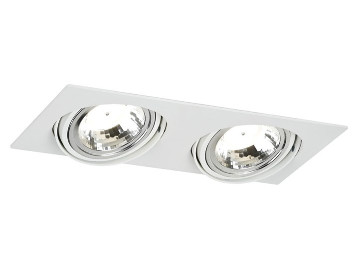 OLIMP LED oprawa podtynkowa 2 x 5W LED wpuszczana oczko sufitowe podwójne białe nowoczesne ledowe ARGON 775