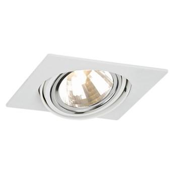 OLIMP oprawa podtynkowa 1 x 48W G9 wpuszczana oczko sufitowe białe nowoczesne ARGON 3654