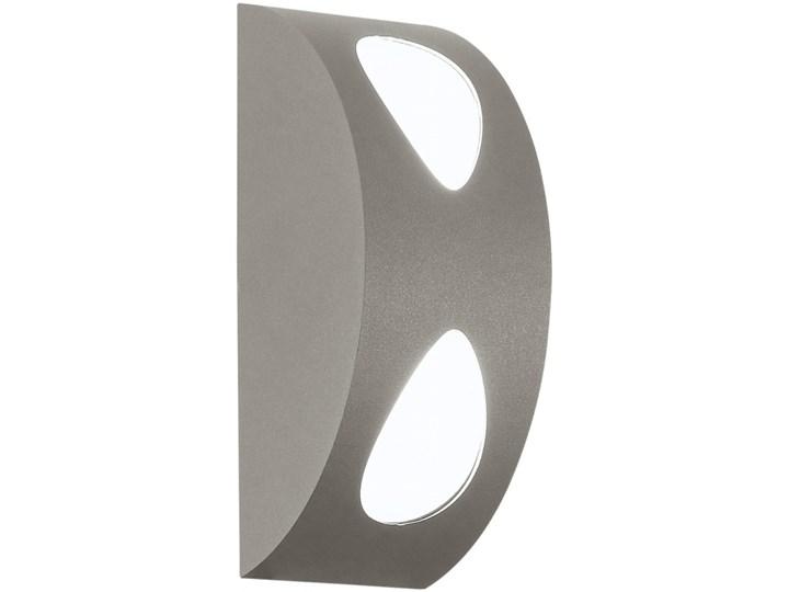 EGLO 91095 - Kinkiet zewnętrzny MORINO 2xLED/4,76W srebrny