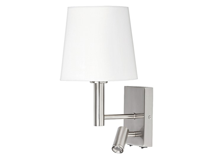 Rabalux 6539 - Kinkiet HARVEY E27/40W + LED/3W Metal