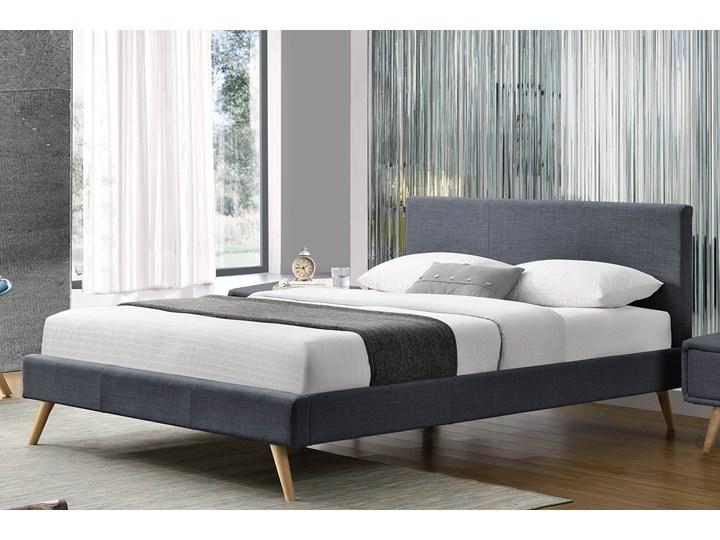 łóżko Tapicerowane Do Sypialni 140x200 1199 Szare