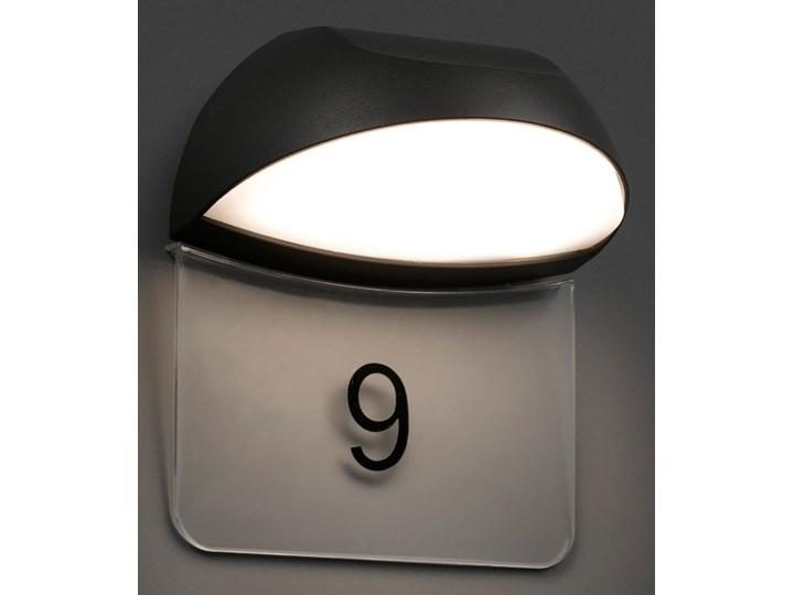 Ciemnoszare Oświetlenie Numeru Domu Led Num