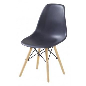 Krzesło Enzo Dsw Paris bukowe nogi czarne