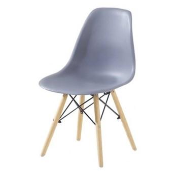 Krzesło Enzo Dsw Paris bukowe nogi szare