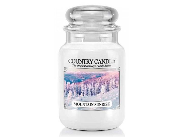 Country Candle - Mountain Sunrise - Duży słoik (652g) 2 knoty