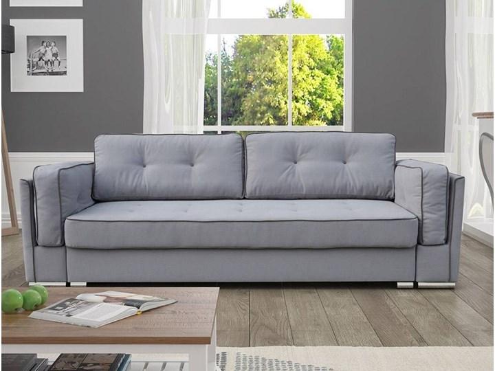 Elegancka Sofa Gracja Z Funkcją Spania I Pojemnikiem Na Pościel