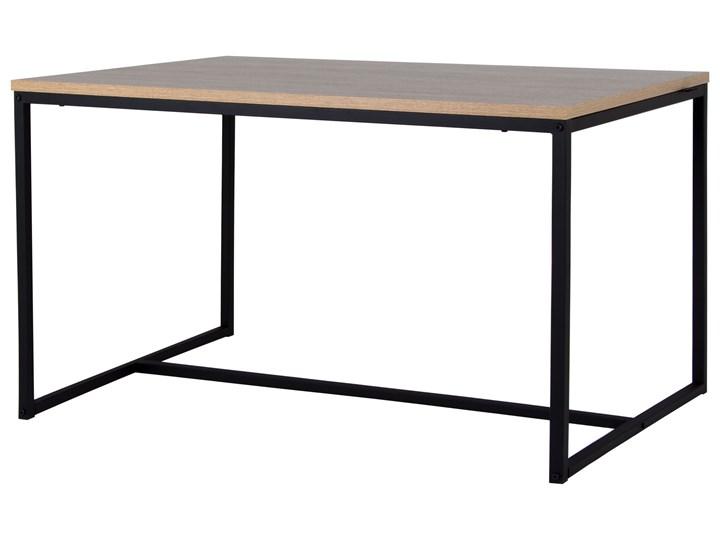 Bardzo dobra Stół do jadalni Industrial 120x80 cm dąb sonoma czarny - Stoły ZD37