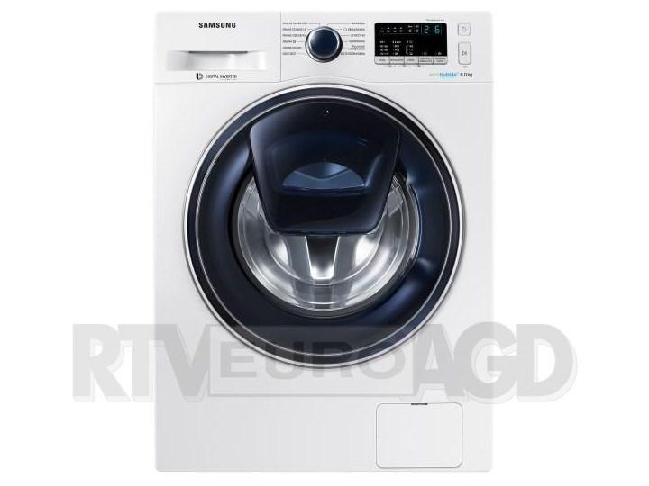 Samsung AddWash Slim WW60K42109W Głębokość 45 cm Głębokość 45,6 cm tkanina Szerokość 60 cm Wysokość 85 cm Ładowanie Od frontu