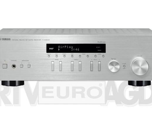 Yamaha Musiccast R N303d Srebrny