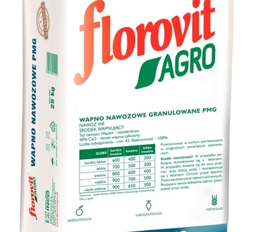 Florovit Agro Wapno Pmg 25kg Uprawa Ekologiczna Nawozy Zdjęcia