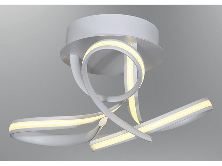 Biały Plafon Ledowy Lampa Led Ozcan 5648 1 Salon Kuchnia łazienka Mocne światło