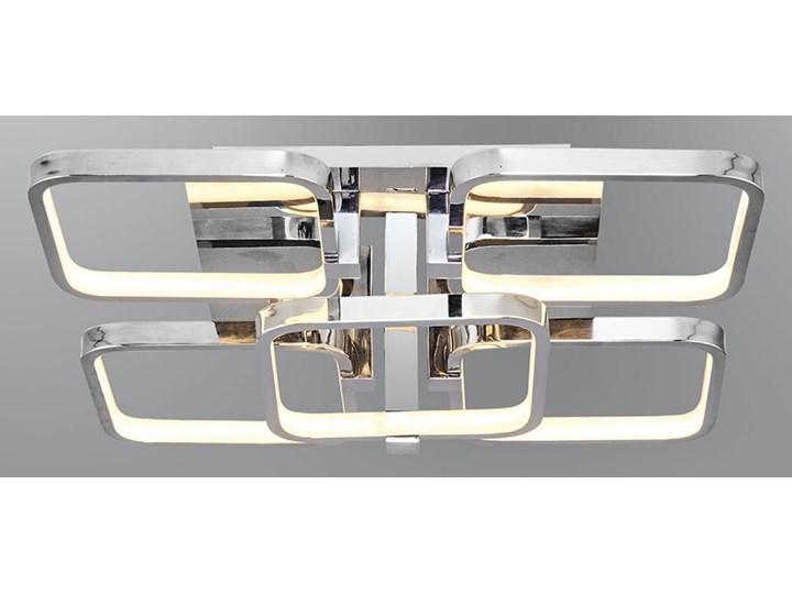 Srebrny Plafon Ledowy Lampa Led Ozcan 5637 5 Chrom Salon