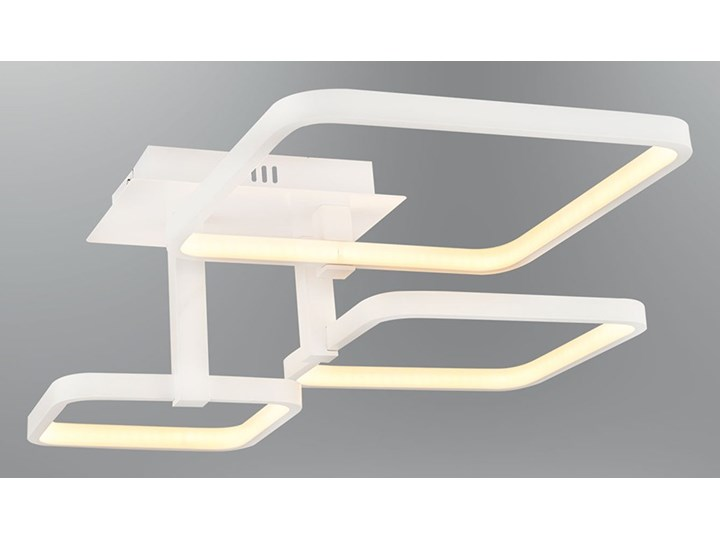 Biały Plafon Ledowy Lampa Led Ozcan 5637 3a Salon Kuchnia