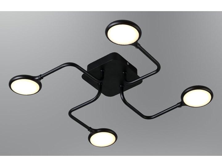 Promocja Czarna Lampa Led Plafon Ledowy Ozcan 5661 4 Do