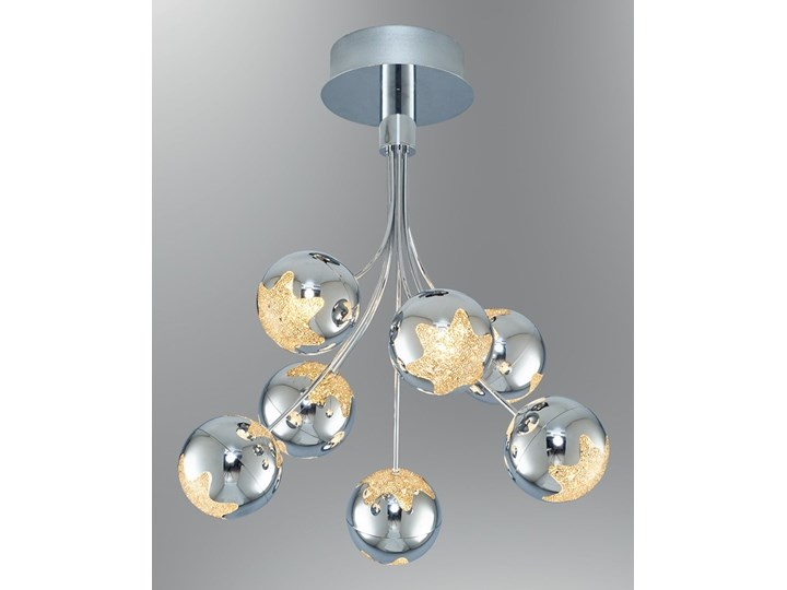Lampa Led Plafoniera Ozcan 5372 7 Chrom Plafon łazienka