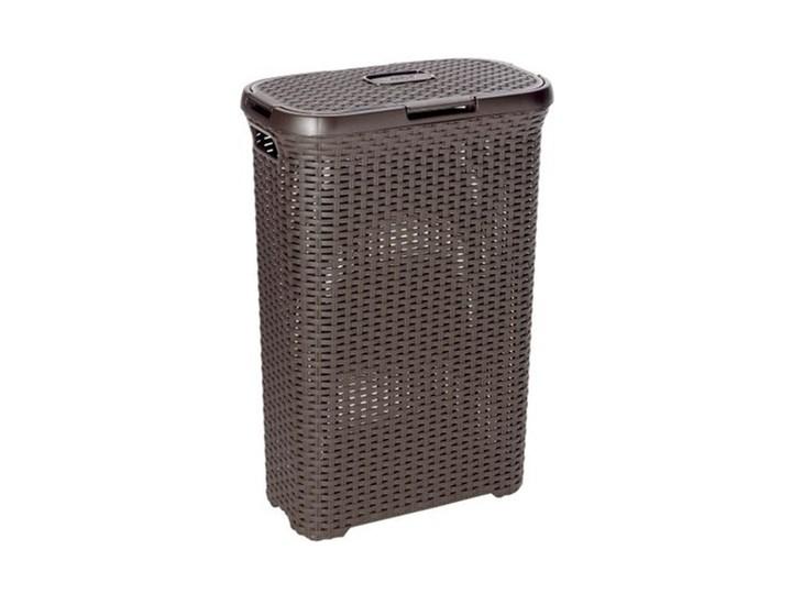 Kosz na pranie CURVER Style 40L Ciemnobrązowy Kategoria