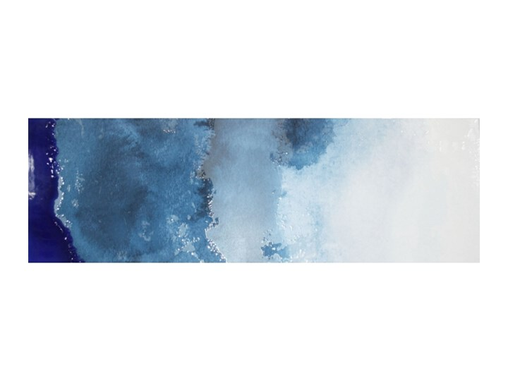 Dekor Hiszpański Kolory Niebieski 3 30x90 ściana