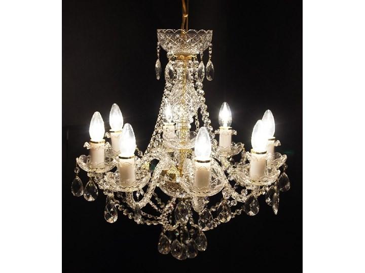 Żyrandol kryształowy 8-ramienny - Elite Bohemia Styl glamour Szkło Lampa kryształowa Ilość źródeł światła > 4 źródeł