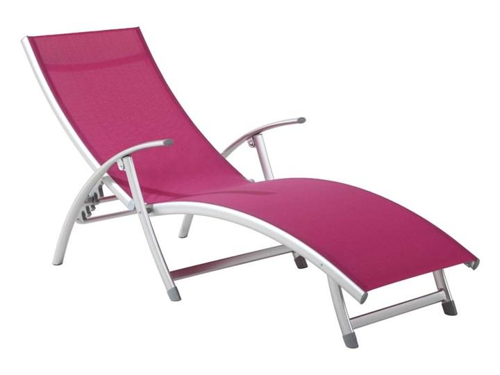 48095 Patio łóżko Plażowe Ogrodowe 5 Poz 120kg Max Leżaki