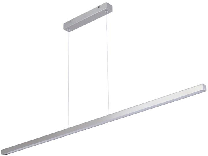 Lampa wisząca nowoczesna chromowana Line Chrome 115x3-110 cm Metal Lampa inspirowana Styl nowoczesny