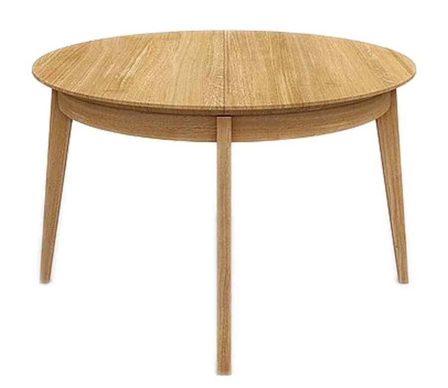 Stół Okrągły Rozkładany Miloni Fox 125 Cm Stoły Kuchenne Zdjęcia