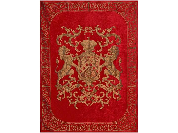 FS Fiorantello Red 175x235cm coverlet aksamit 175x235 cm Wzór Orientalny
