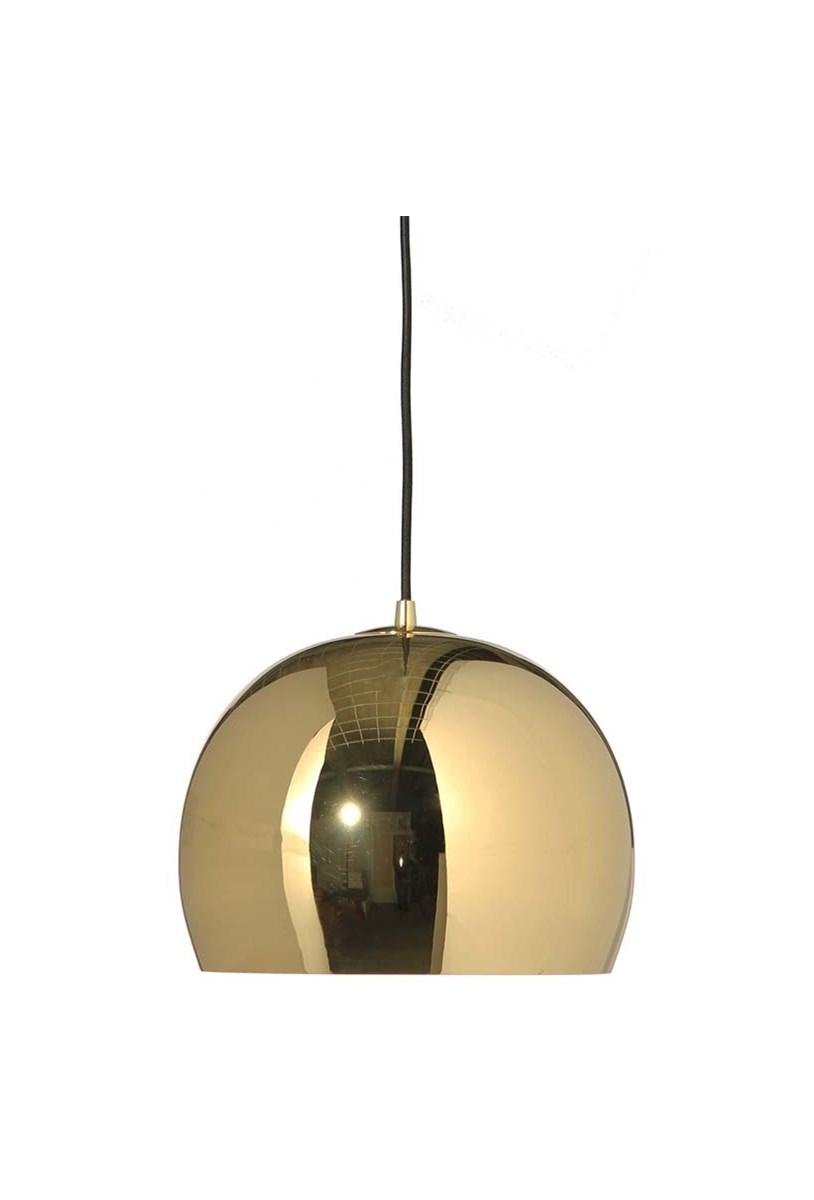 Lampa Wiszaca Ball Gold Gloss 25cmx250 Cm Lampy Wiszace Zdjecia