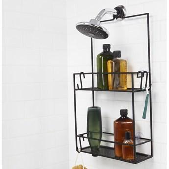 Organizer/ półka pod prysznic Umbra Cubiko Black