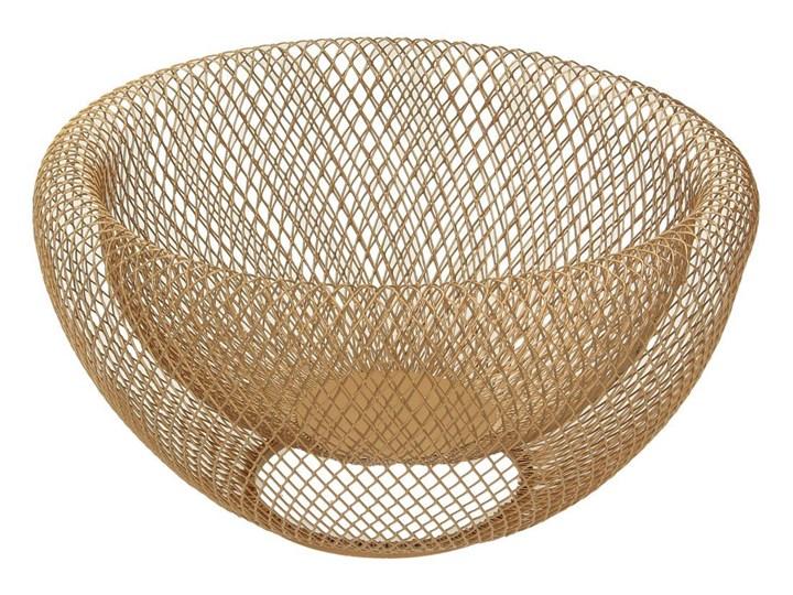Dekoria Misa Wire gold 24cm, 24 × 24 × 12 cm