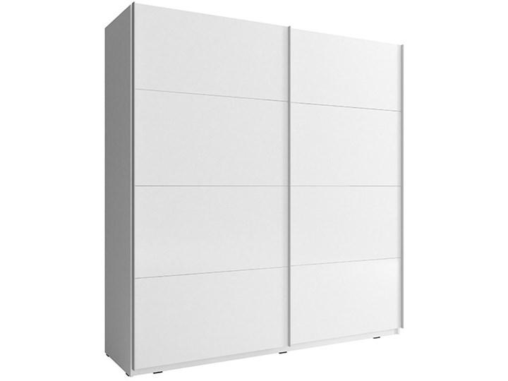 Szafa przesuwna Kika 7 biała/czarna Typ drzwi Przesuwane