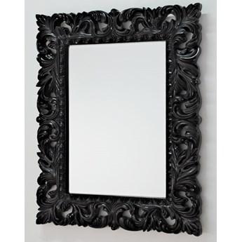 Lustro czarne glamur Barocco 58